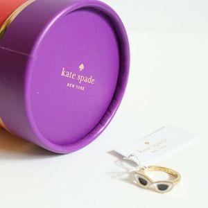 NWT Kate Spade Sunshades Ring  Size 7